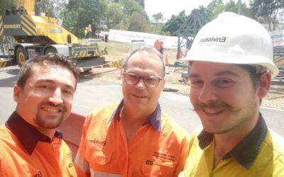 Constructionarium Australia Project Update Build Day 2