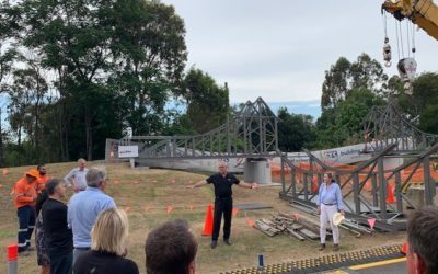 Story Bridge Build 2020 – Construction Progressing Well